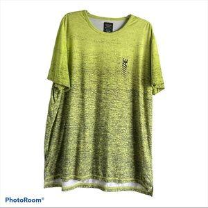 AEO Active Flex Neon Green Crew T Shirt XXL